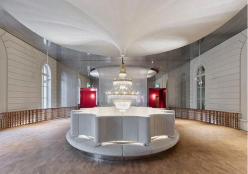 """赫尔佐格与德梅隆新作:巴塞尔城市赌场音乐厅扩建,当代""""新巴洛克风格"""""""