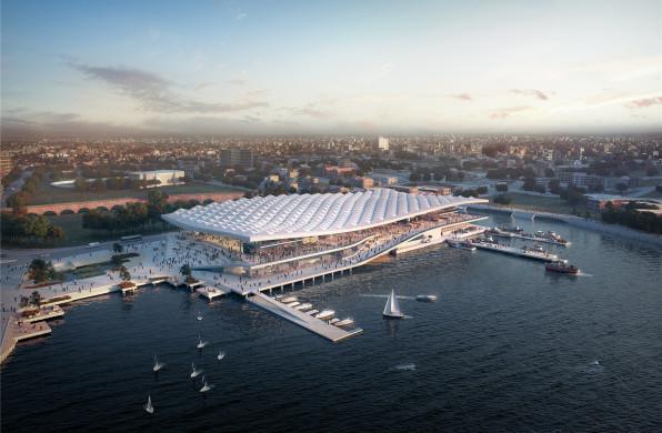 3XN南半球最大鱼市方案获批,滨海市集创造公共场所