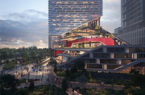 继中标腾讯科技岛后,NBBJ将设计vivo深圳新总部