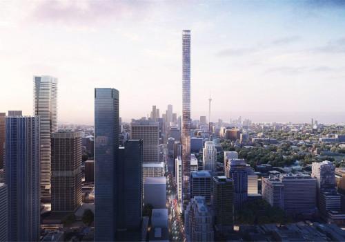 赫尔佐格与德梅隆最新方案公布,或将成为多伦多最高公寓