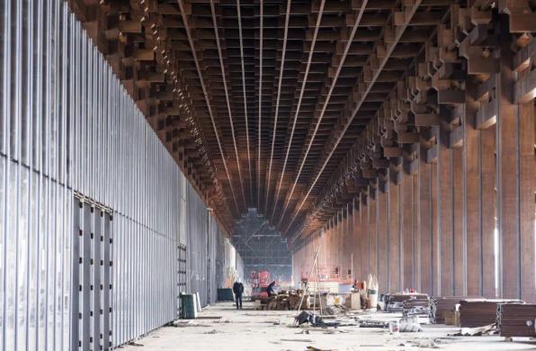 """汤桦建筑设计""""天府国际会议中心""""即将竣工,以檐廊系统延续传统民居结构"""