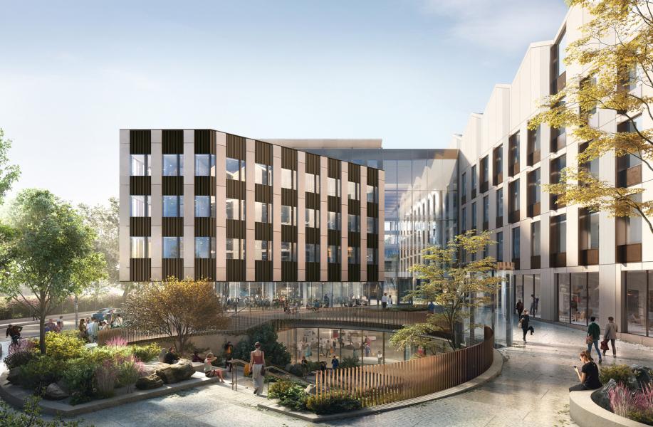 牛津大学史上最大建筑项目方案揭晓,与NBBJ共同打造新系馆大楼