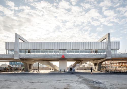 Orientkaj和Nordhavn地铁站 / Arup + Cobe