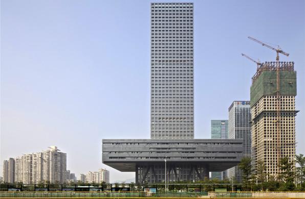 深圳证券交易所新总部大楼:悬浮的基座 / OMA