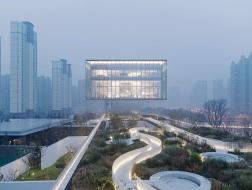 西安曲江艺术中心:悬浮的视界 / gad