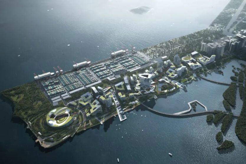 NBBJ、MVRDV、SHL等各展拳脚,探索深圳大铲湾未来城市的四种可能