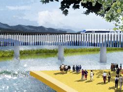 卢沟新景:丰台高铁桥TOD城市景观项目 / Crossboundaries