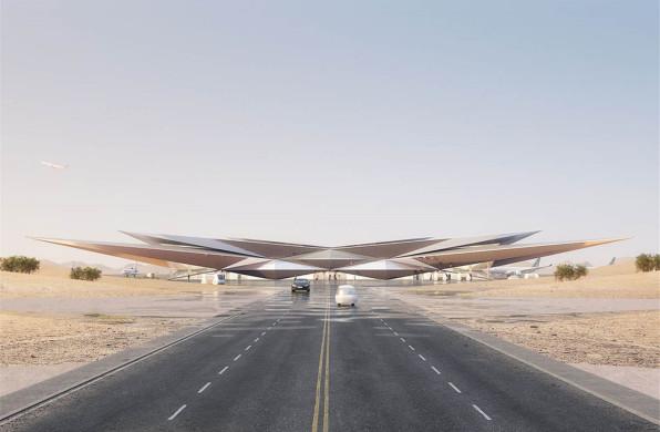 福斯特事务所新机场设计公布,为豪华旅行项目提供定制化服务