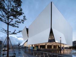 iADC设计博物馆:折叠的表皮 / 严迅奇建筑师事务所