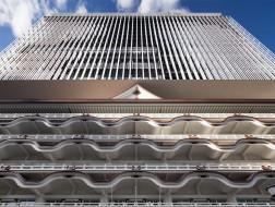 隈研吾新作:大阪皇家经典酒店,延续传统山墙的改扩建