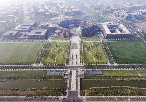 天津大学新校区主楼组团及综合实验楼组团 / 中国建筑设计研究院有限公司本土设计研究中心