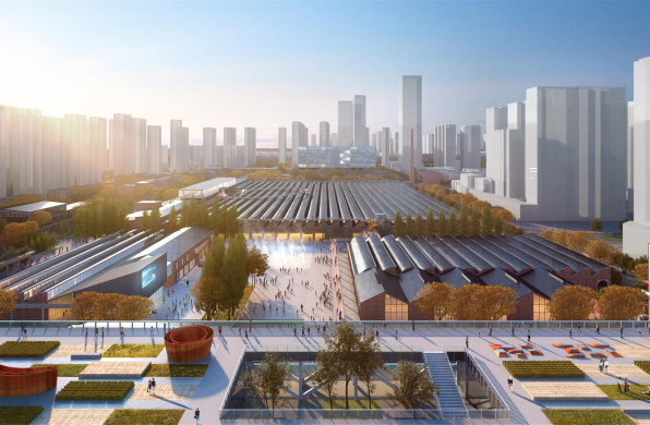 郑州二砂文化创意园产业核心区整体规划建设方案 / CCDI 境工作室