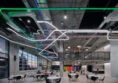 Gensler为抖音打造洛杉矶总部办公室,体现社区精神和欢乐气质