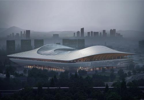 扎哈事务所最新方案:西安国际足球中心