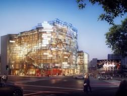 受疫情影响,盖里事务所一在建音乐厅被迫停工