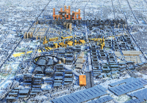 竞赛获胜方案:邯郸绿色城市宣言 / 多米尼克·佩罗建筑事务所