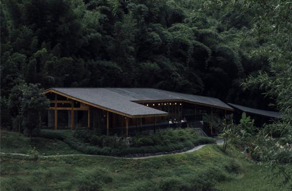 一田一房一院:竹枝书院 / 小隐建筑