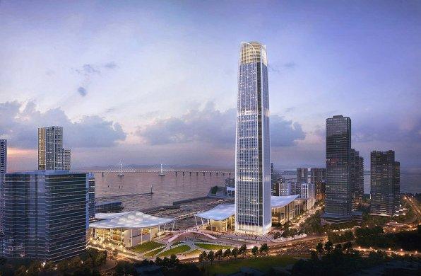 打造水岸社区,SOM公布珠海九洲湾获胜方案