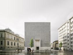 瑞士库尔州立艺术博物馆扩建:典雅的灰立方 / Barozzi Veiga