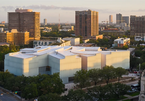 Steven Holl休斯顿美术博物馆新楼即将开幕,半透明材质创造朦胧光影