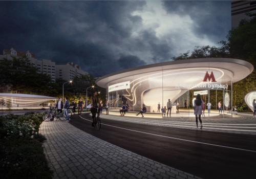 扎哈事务所最新方案:莫斯科Klenoviy大道2号地铁站