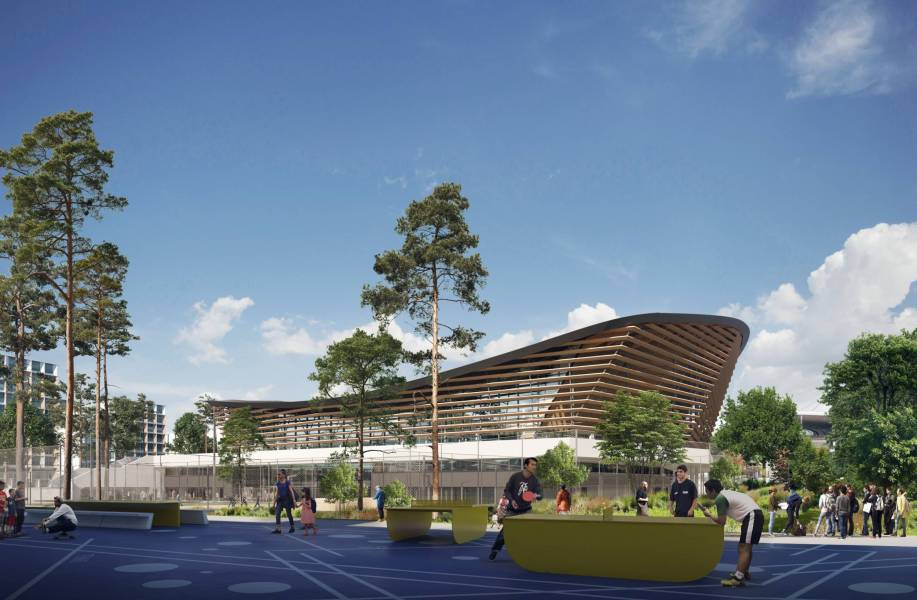 2024巴黎奥运会新水上运动中心方案公布,Ateliers 2/3/4/+VenhoevenCS摘竞赛头筹