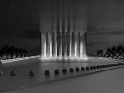 阿贾耶事务所最新方案:烈士纪念馆,向天空延伸的光柱