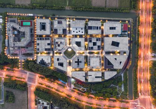 非常建筑新作:嘉定微型街区,一个城市尺度试验