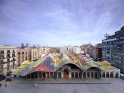 圣卡特琳娜市场重建工程:屋顶上的斑斓色彩 / EMBT