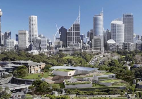 """SANAA澳洲首作方案:新南威尔士艺术博物馆""""悉尼现代项目"""""""