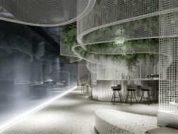 白色花园:福州万科金域时代营销中心 / 峻佳设计