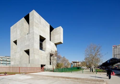 亚历杭德罗作品:智利天主教大学创新中心