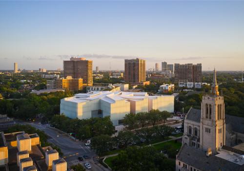 "Steven Holl新作:休斯顿艺术博物馆新楼,""漂浮""的片层屋面"
