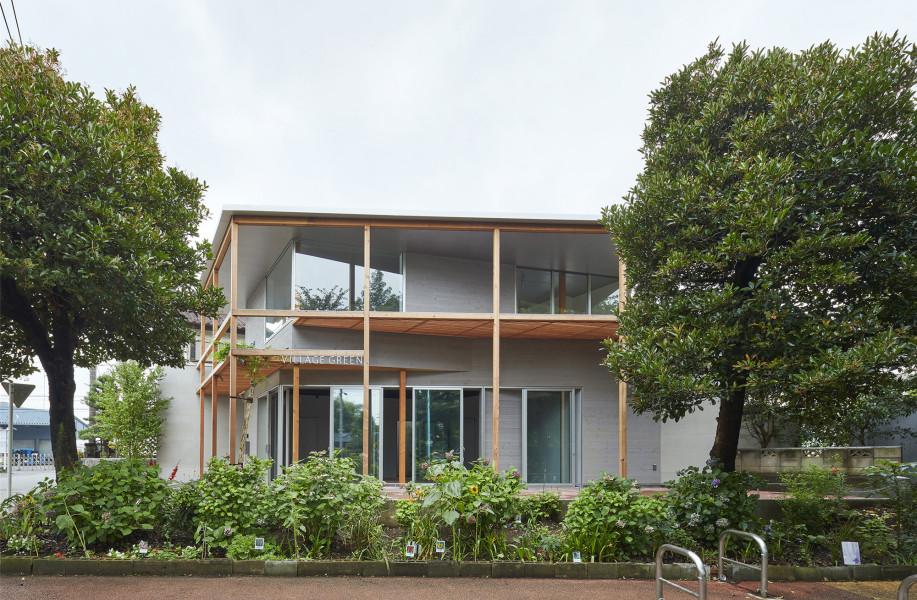 东京街边小屋Tenjintyo Terrace / Yoshitaka Suzuki and Associates