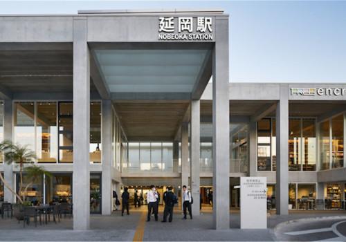 延冈站周边整备工程:兼顾多尺度的混凝土框架 / 乾久美子建筑设计事务所
