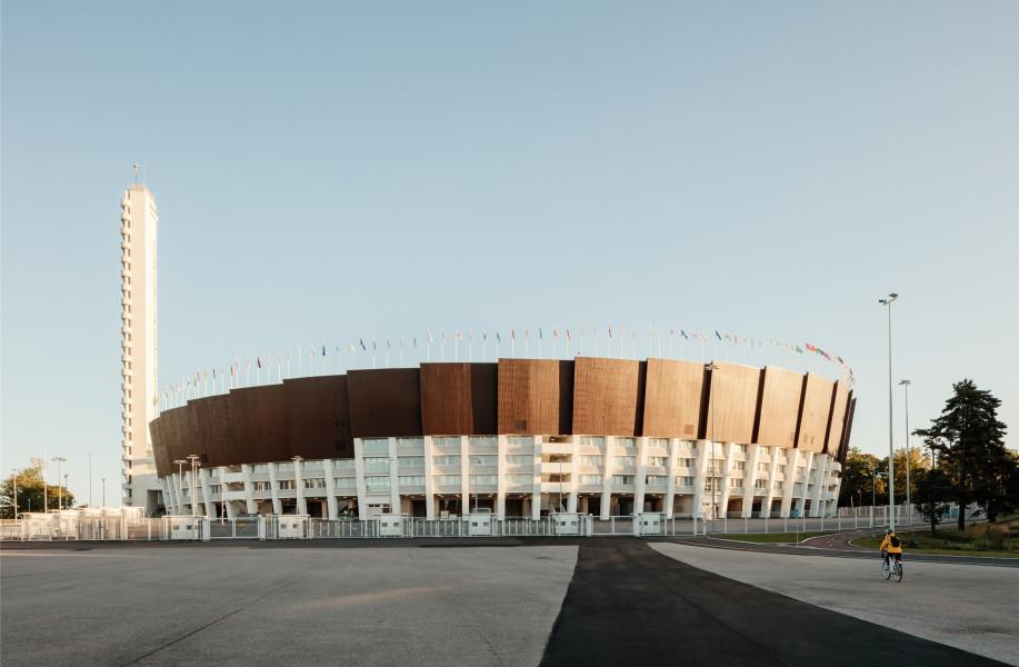 新赫尔辛基奥林匹克体育场:古朴的立面阵列 / K2S Architects + Architects NRT
