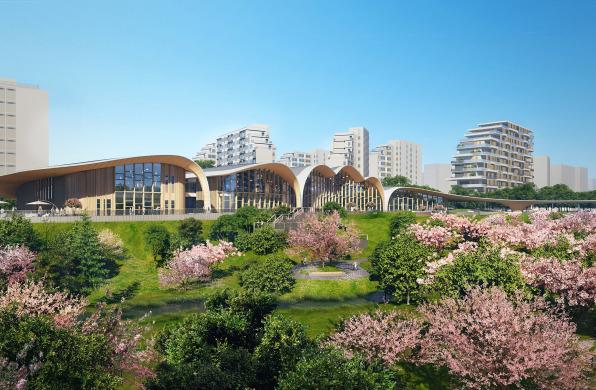 方案 | 泰康之家·桂园活力中心:屋檐上的山水 / SUNLAY三磊+三磊方未