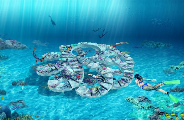 OMA联手Shohei Shigematsu,为迈阿密打造首处水下雕塑公园