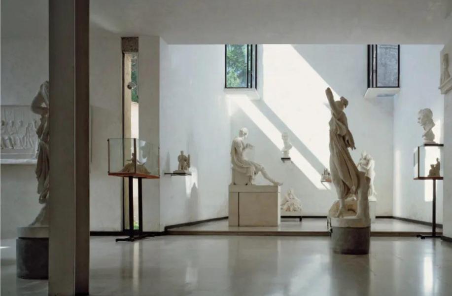 经典再读89 | 卡诺瓦雕塑博物馆:斯卡帕小而精妙的扩建