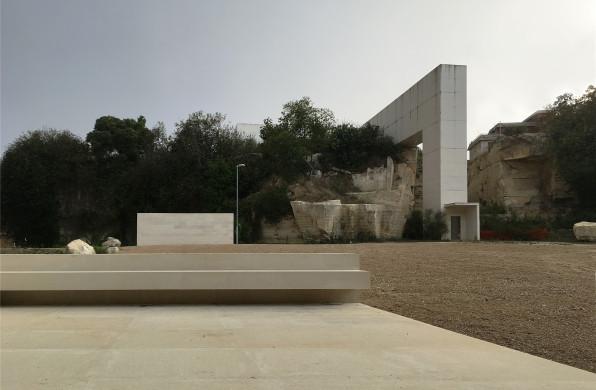"""意大利莱切公园:以""""雕塑""""点缀自然 / 西扎+卡洛斯+路易吉·加洛"""