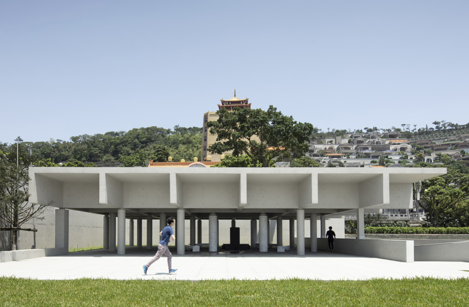 西扎+卡洛斯作品:台湾嘉卿园陵园,静默之地
