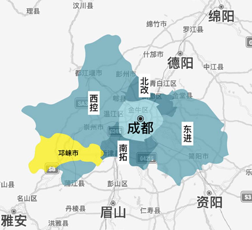 邛崃山水塔城概念规划设计竞赛(预公告)