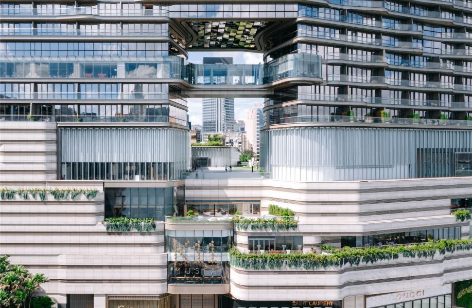 香港K11艺术文化中心:超尺度玻璃管界面 / SO-IL