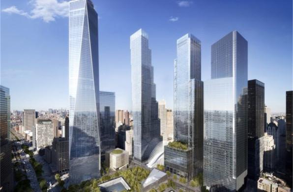 丹尼尔·李布斯金作品:美国世贸中心总体规划,回忆之基