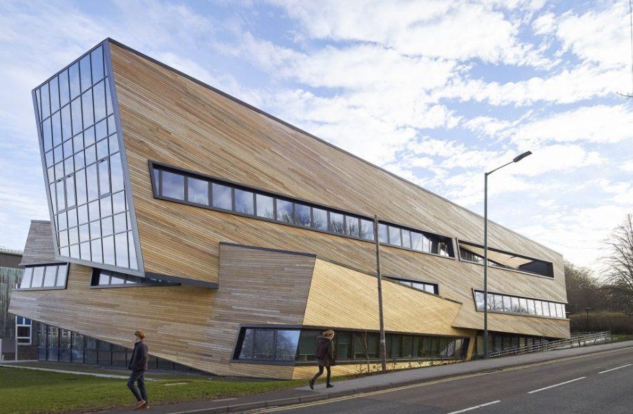英国杜伦大学奥格登中心:层层相扣 / 李布斯金工作室