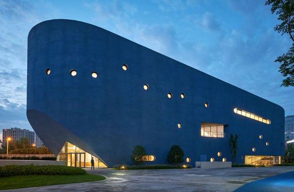 OPEN建筑事务所新作:平和图书剧场,生动立面下的复合功能