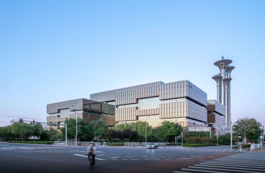 亚洲金融大厦暨亚投行总部 / gmp + 清华大学建筑设计研究院