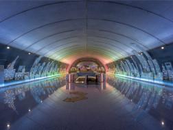 地下动脉里的都市之光:上海地铁吴中路站 / Wutopia Lab