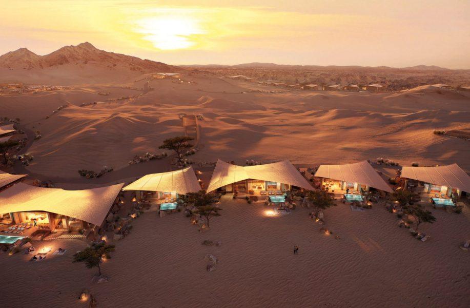 福斯特事务所,三组沙特度假酒店方案公布