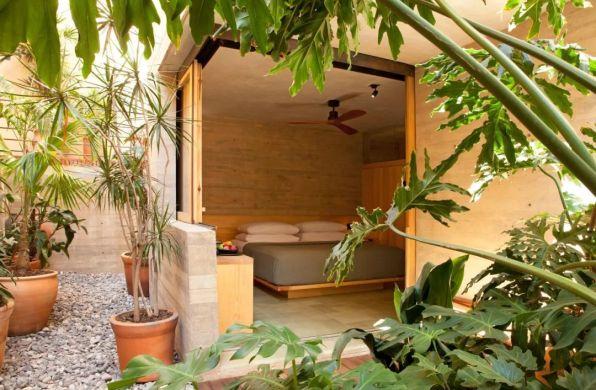 设计酒店42 | Escondido Oaxaca:极简主义与葱郁花园